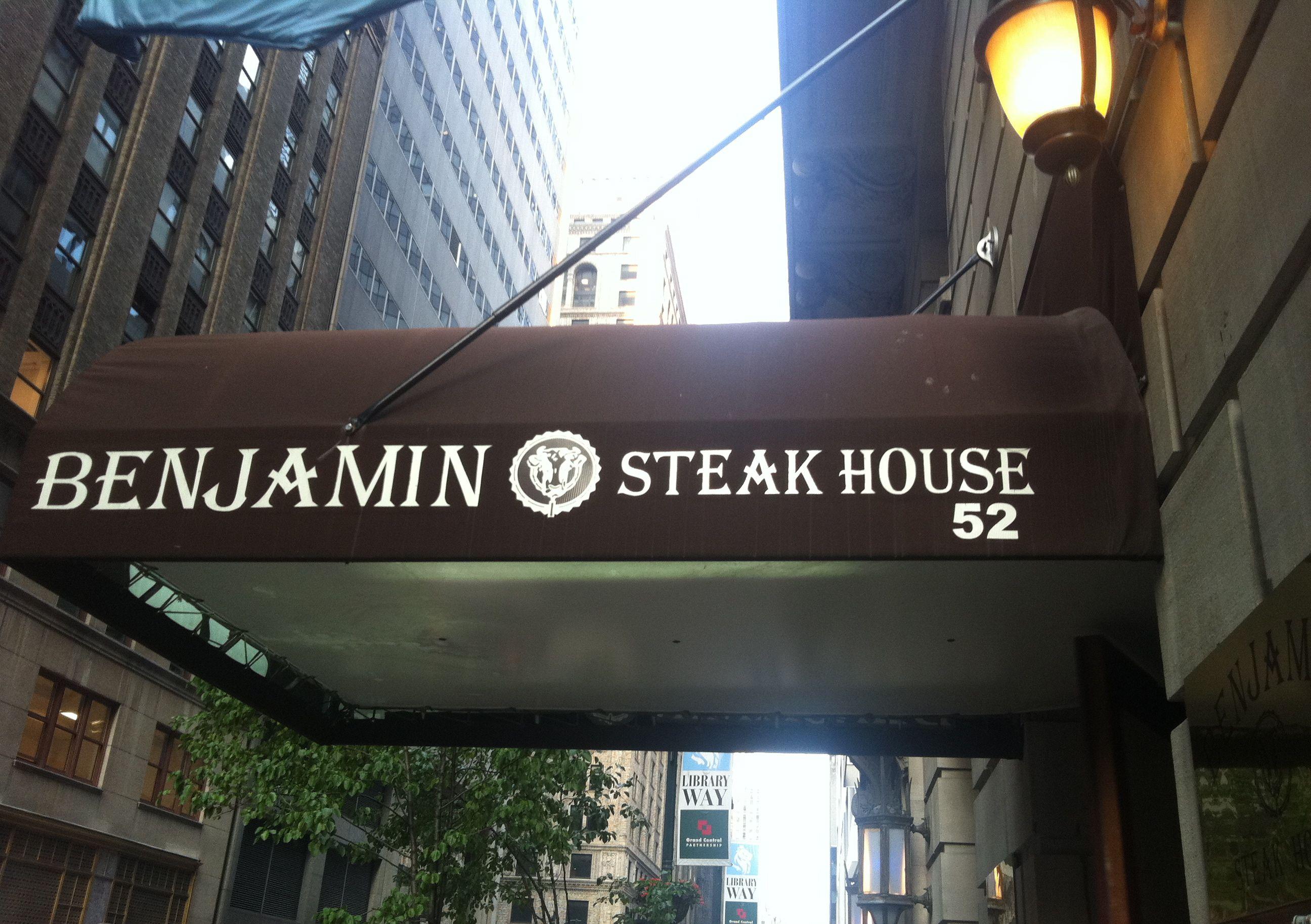 New York Ny Benjamin Steak House Try The Rib Eye Sandwich Usda Prime Lunch New York City Fall Travel Steakhouse