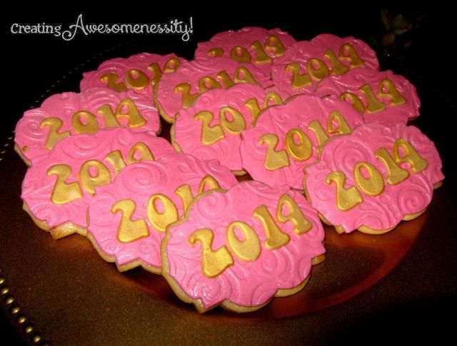 2014 cookie by Kima's Konfections