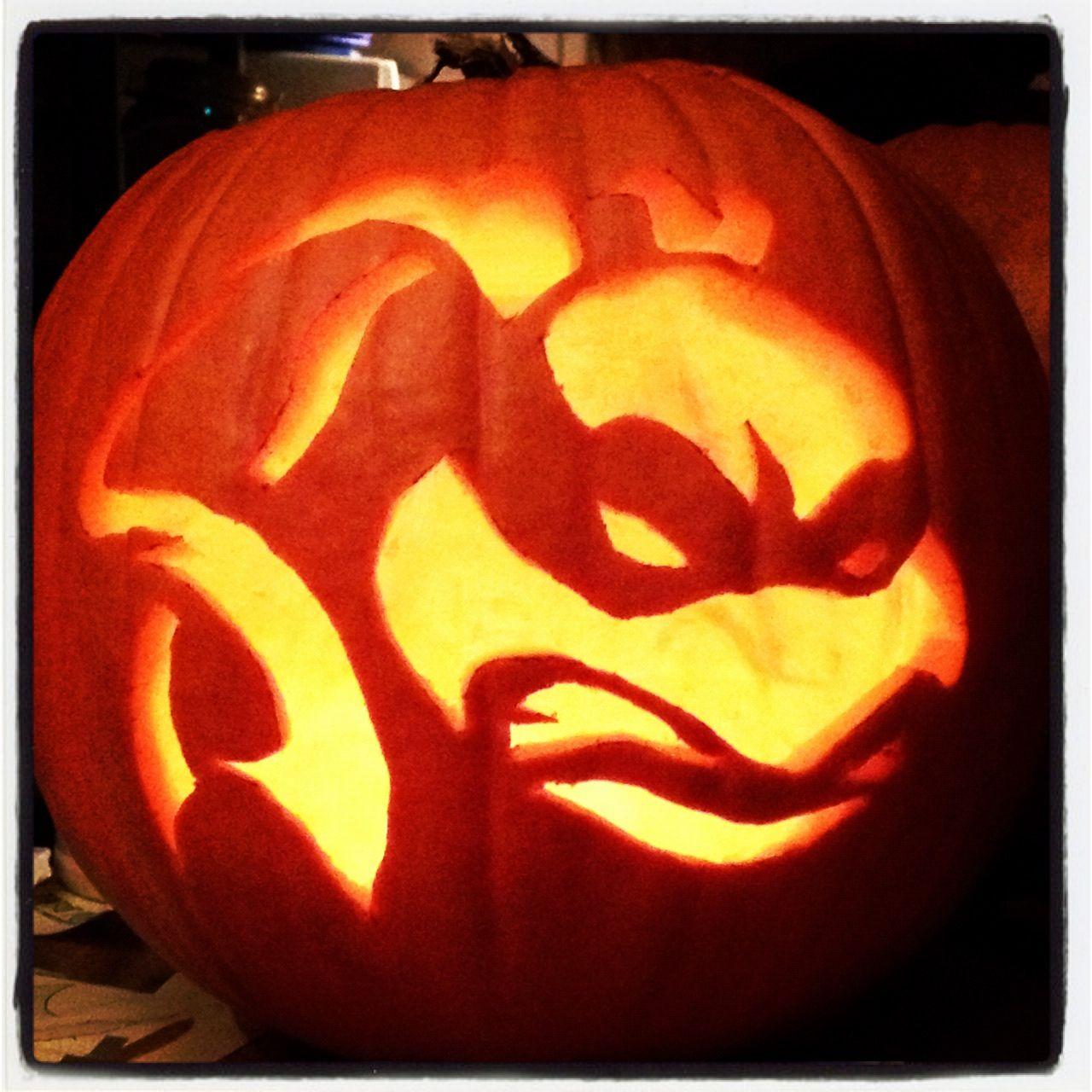 Teenage Mutant Ninja Turtle pumpkin | Halloween | Pinterest ...