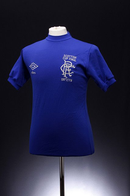 uk availability a6630 58c7e Glasgow Rangers Football Shirt (1978 Scottish Cup Final ...