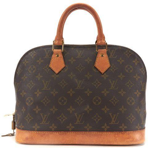 Louis Vuitton Monogram Alma Pm Top Handle Satchel Handbag icFIb