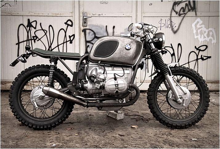 bmw r65 custom scrambler by moto sumisura all bike. Black Bedroom Furniture Sets. Home Design Ideas