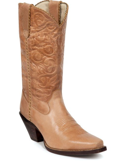Get Cheap Durango Crush Softly Understated Womens Cowboy Boots