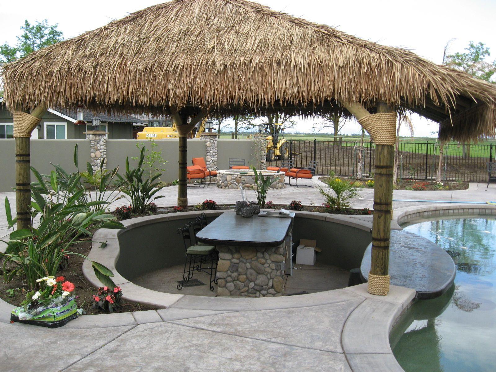 Backyard paradise - Palapa | Patio, Backyard paradise ... on Palapa Bar Backyard id=60760