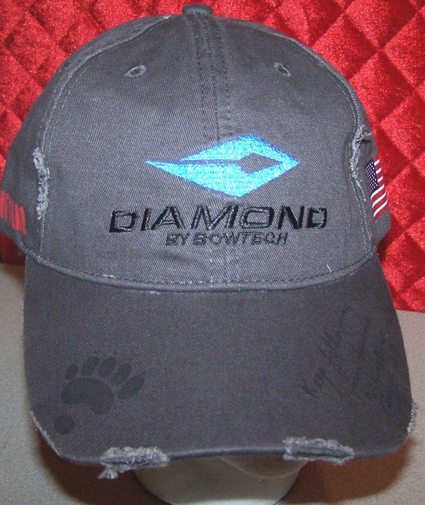 Bowtech Hats: BowTech Archery Diamond Kicking Bear Ray Howe NEW HUNTING
