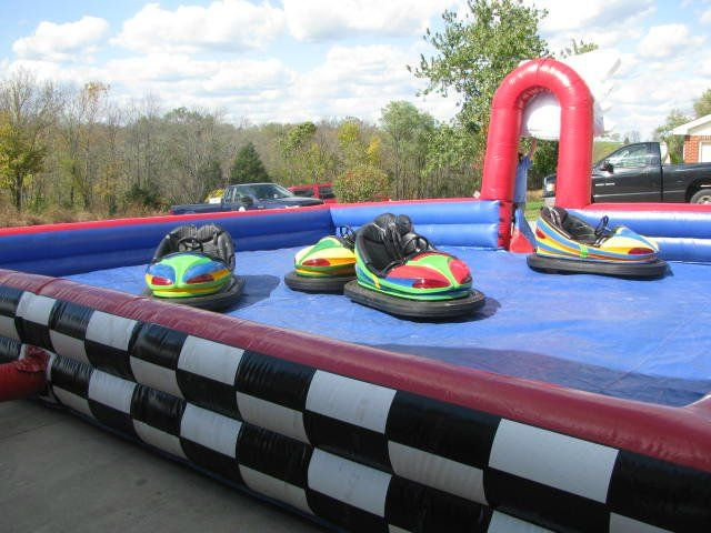 Pin On Backyard Bounce Interactive Attractions