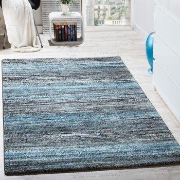 Wohnzimmer Teppich Spezial Melierung Türkis Grau | Kinderteppiche ...