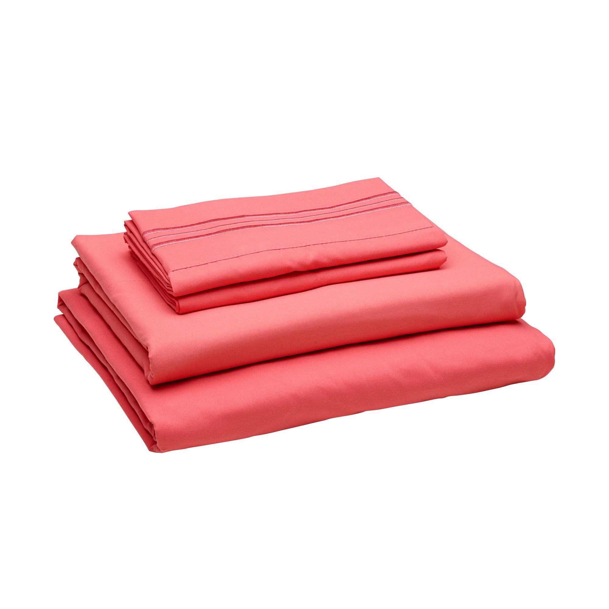 Basics 1800 Series 6 Piece Sheet Set Sheet thread count