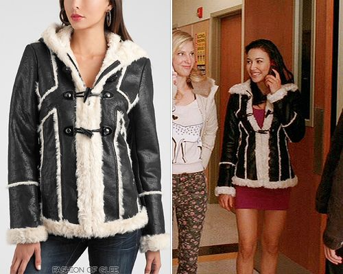 Thanks justababybunny and broodygirl! GUESS Amaya Jacket - $149.99 (EBAY sizes XS-M) Also worn in: 5x09 'Frenemies' with Topshop dress, Topshop backpack, Mophie iPhone case, Steve Madden heels