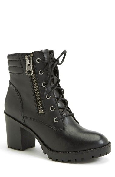 47e6fc66a80 Free shipping and returns on Steve Madden  Noodless  Lugged Sole Boot (Women)  at Nordstrom.com. With a channel-stitched ankle pad and bold