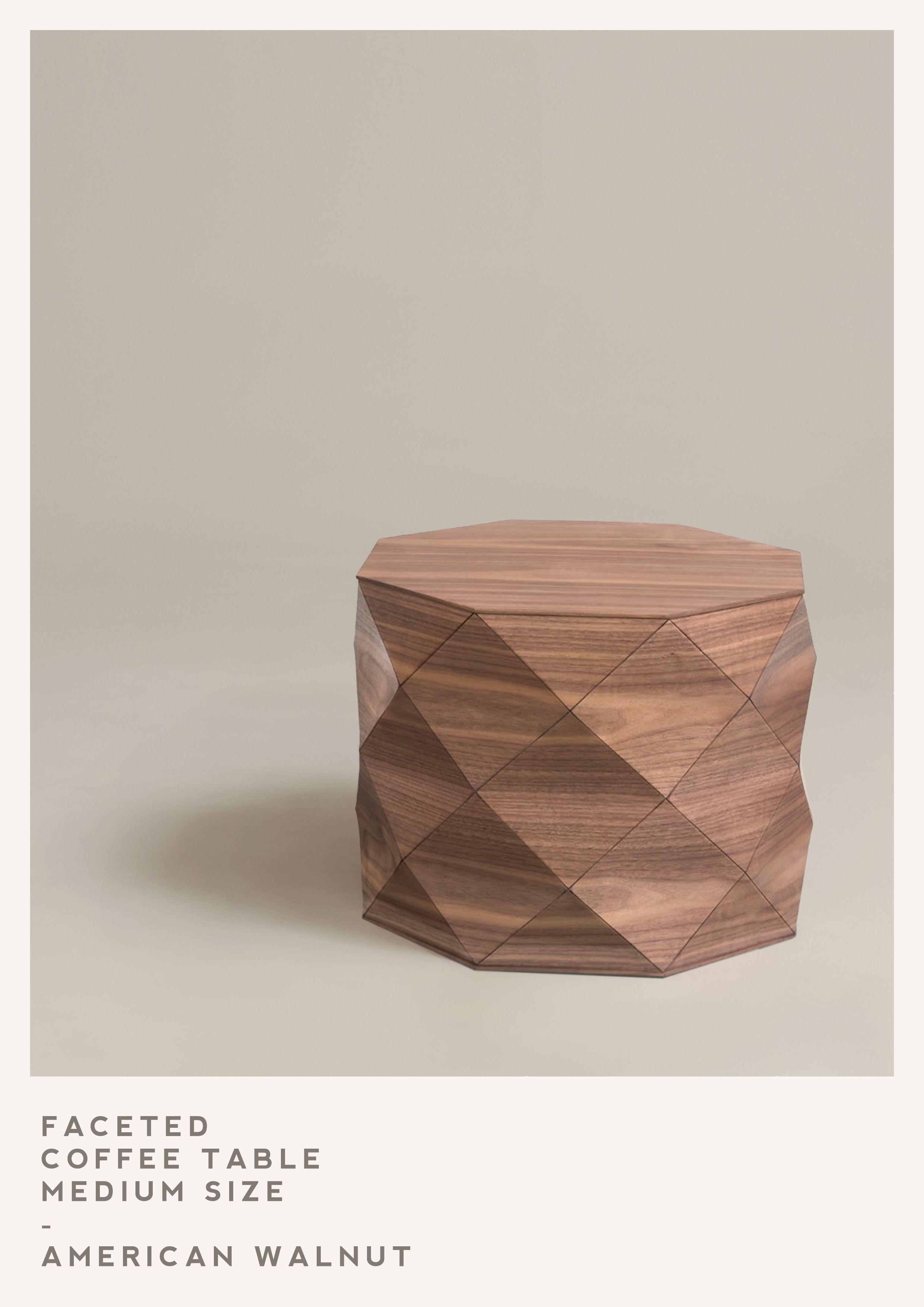 Medium American Walnut Coffee Table Handmade By Tesler Mendelovitch Wooden Accessories Walnut Coffee Table Wood [ 3508 x 2480 Pixel ]
