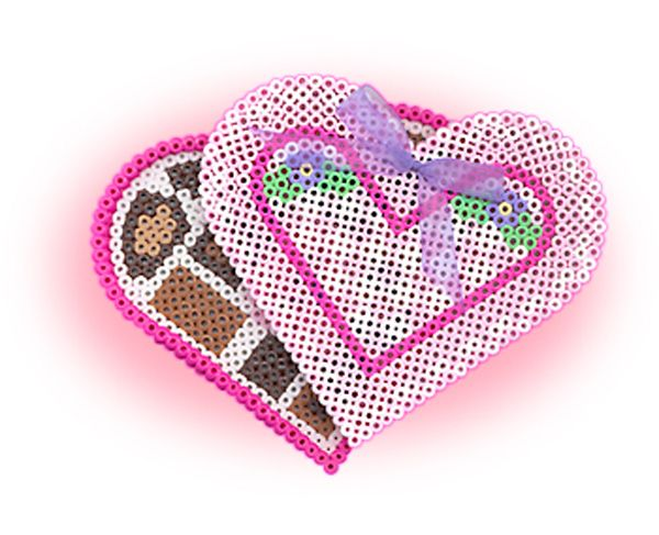 Create this box of chocolates that almost looks like the real thing, but no calories! This is a fun project for kids to make for Mom or Grandma for Valentine's Day or a special occasion.