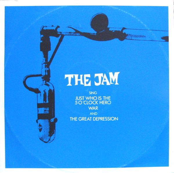 The Jam - Just Who is the 5 O'Clock Hero / War / The Great Depression  (UK Single/EP)    [1982]