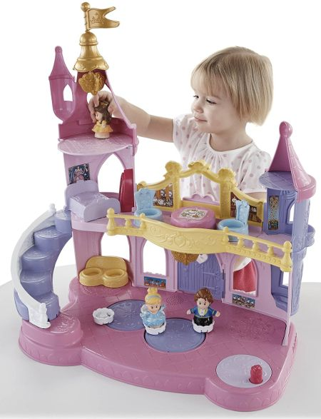 e305033355cc Disney Princess Little People Musical Palace Toy Play Set for Young  Children Girls Gift for Christmas