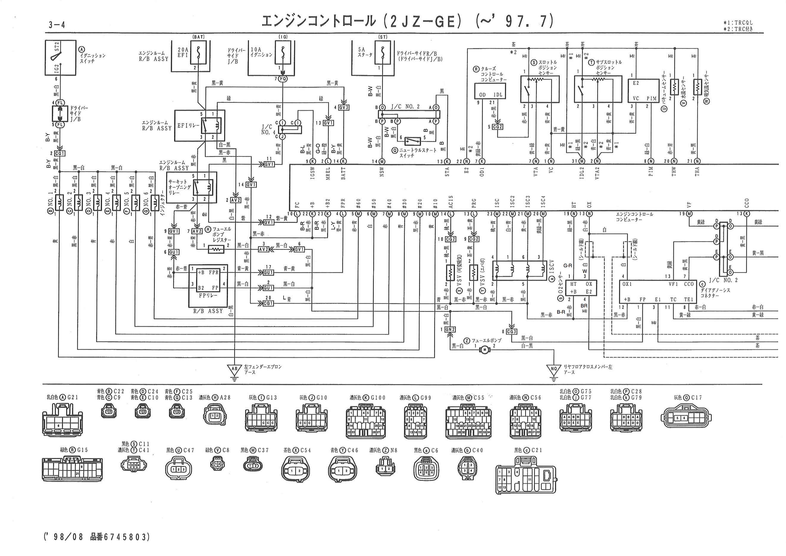 Wilbo666 2jz Ge Vvti Jzs155 Crown Engine Wiring In 2021 Electrical Diagram Wiring Diagram Diagram