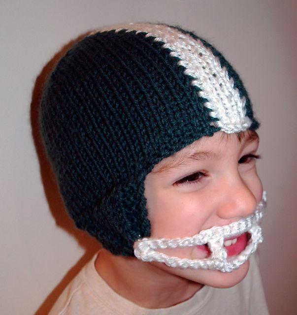 Football Helmet Winter Hat Pattern By Tracey Rediker Ravelry