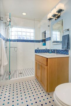 Glass Block In Shower   Traditional   Bathroom   San Francisco   Bill Fry  Construction   Part 92