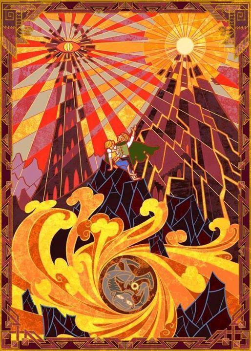 A destruição do Um  Por: Jian Guo  #Olórin {#hobbit #lordoftherings #love| #frodo #hobbits #hobbitlife| #hobbiton #frodobaggins #gandalf| #aragorn #legolas| #legolasgreenleaf #arwen |#gollum #myprecious |#ring #movie| #film #followme |#follow #like4like |#picoftheday| #followforfollow #nature| #bestoftheday}