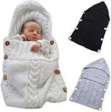 baby sleeping bag knit sleeping sack newborn swaddle Mustard cocoon