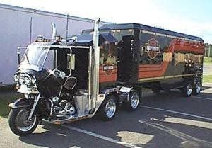 The Semi Bike Motorcycles Pinterest Rigs And Cars