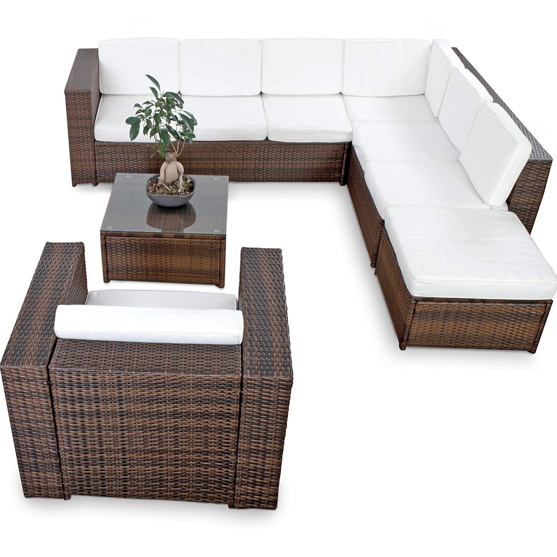 Amazon De Xinro Xxl 22tlg Polyrattan Lounge Mobel Set Gartenmobel Gunstig 1x 1er Lounge Sessel L Polyrattan Lounge Set Polyrattan Lounges Lounge Mobel
