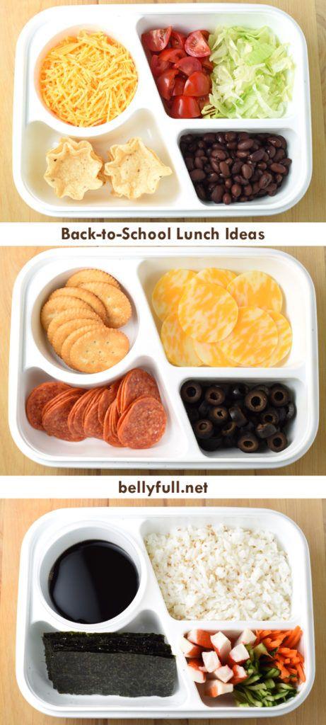 Back To School Lunch Ideas #schoollunchideasforkids