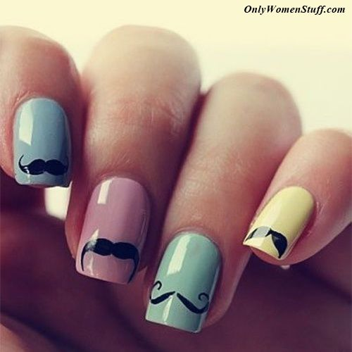 20 easy nail designs for kids to do at home step by step 20 easy nail designs for kids to do at home step by step pictures kid nails short nails and kid nail art prinsesfo Images
