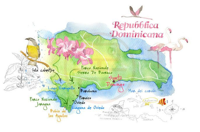 Cristiano Lissoni | map of Dominican Republic | Geography ...