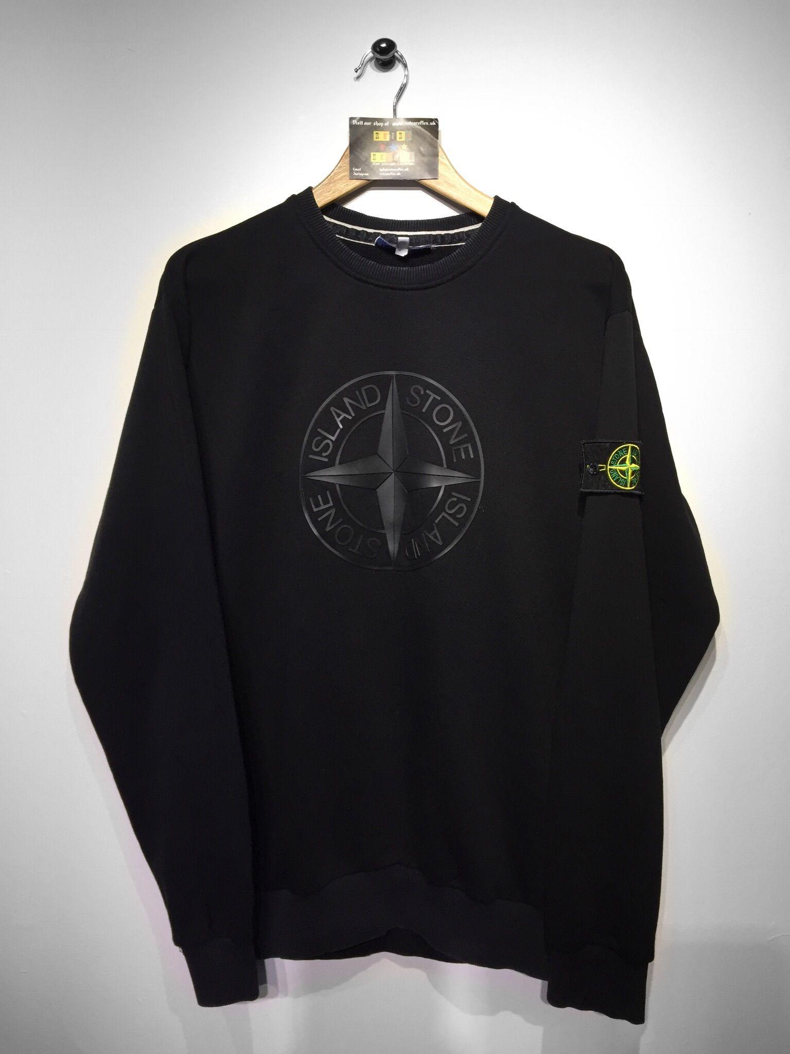 Stone Island Sweatshirt Size X Large But Fits Oversized 160 Website Www Retroreflex Uk Stoneisland Vint Stone Island Sweatshirt Clothes Design Clothes