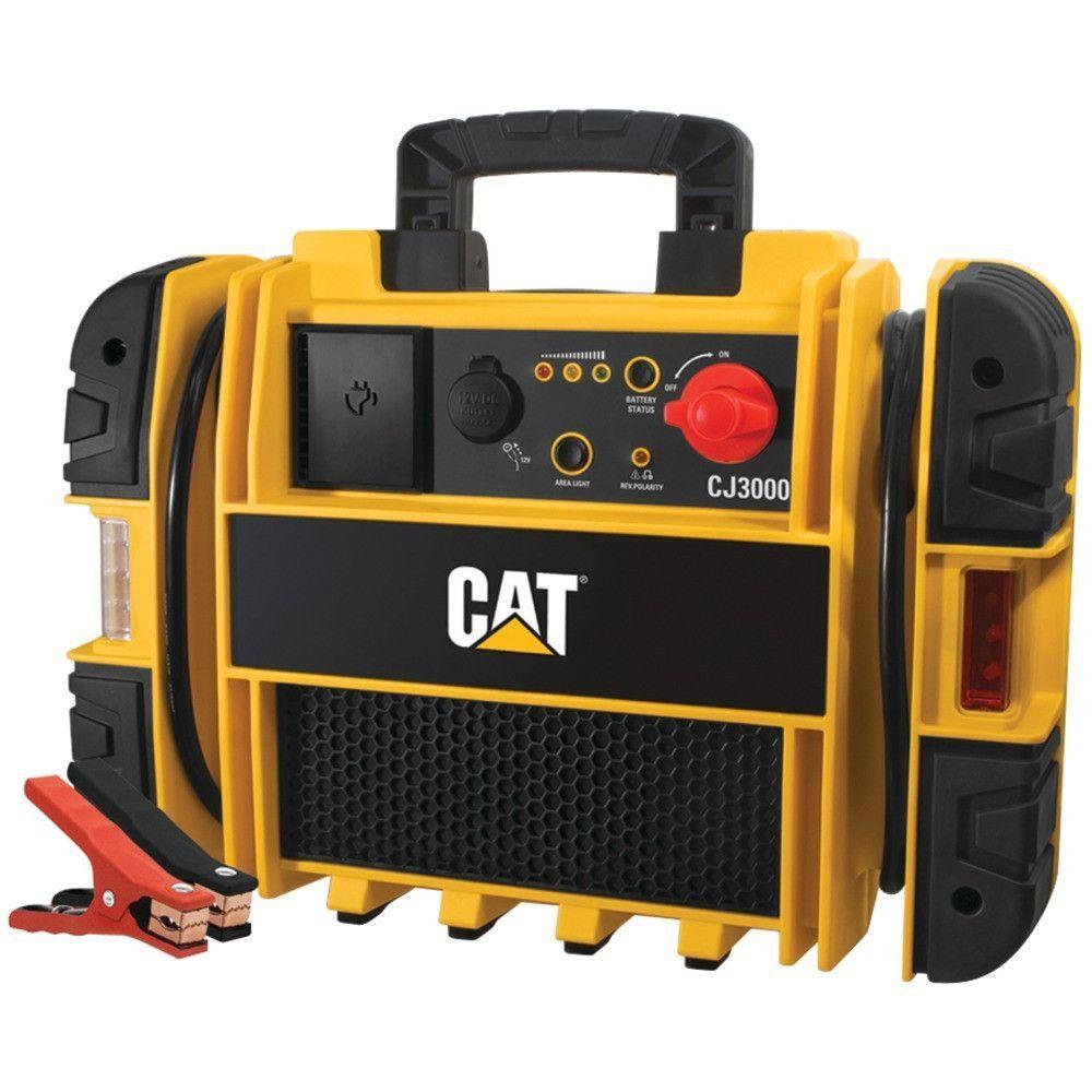 CAT CJ3000 1,000Amp Instant Jump Starter. 1,000A instant
