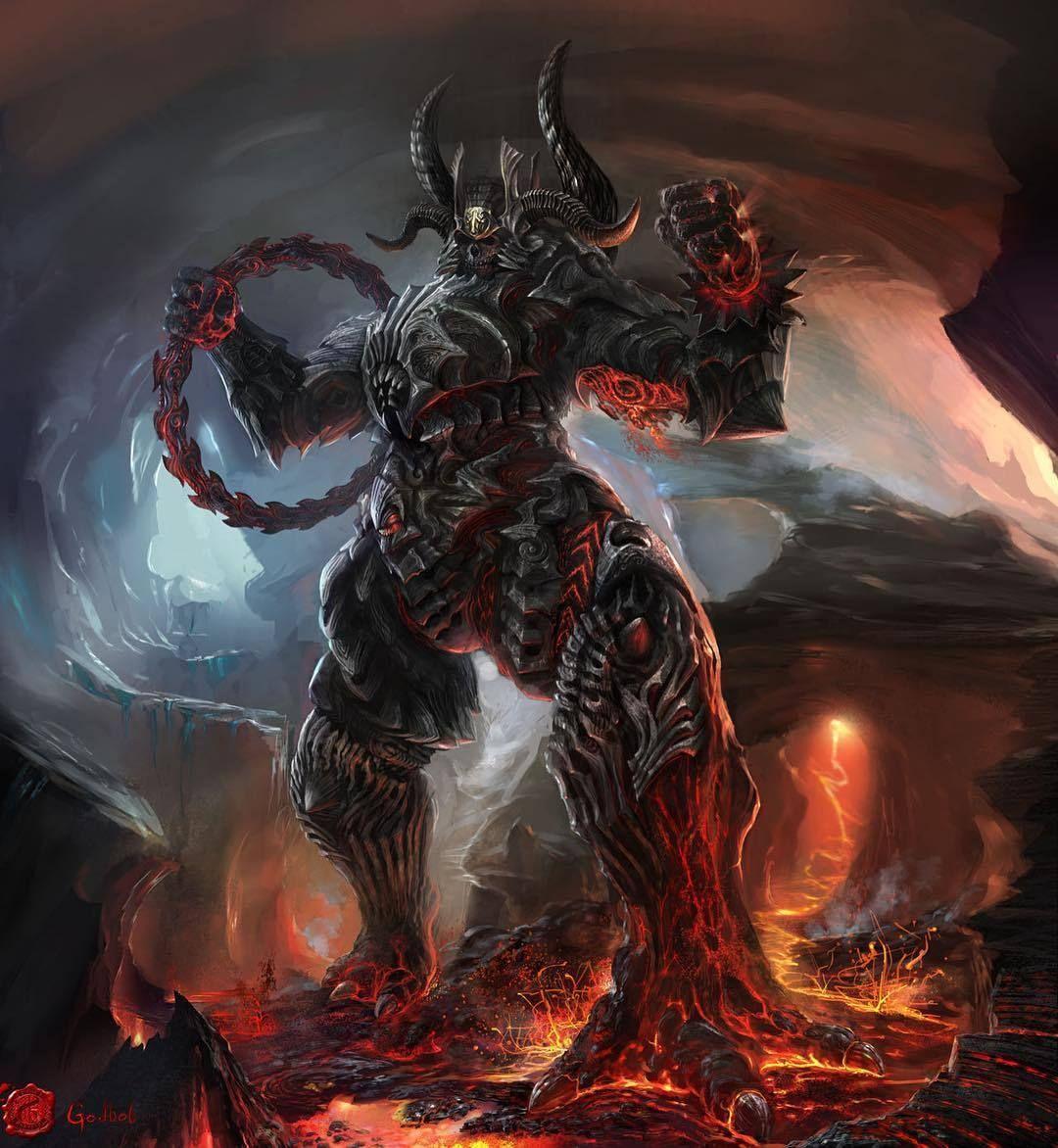 Картинки адских существ