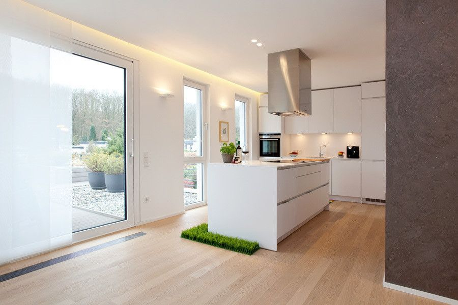 Interior Design Ideas, Redecorating \ Remodeling Photos Boden - offene küche mit insel