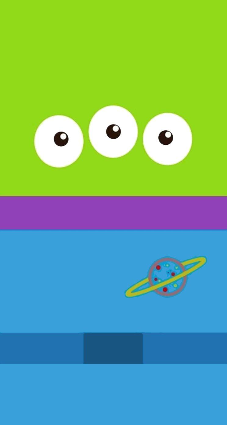 Wallpaper iphone toy story - Minimalist Art Green Man Toy Story Minimalism Aliens Phone Cases Cartoons Invitations Funds