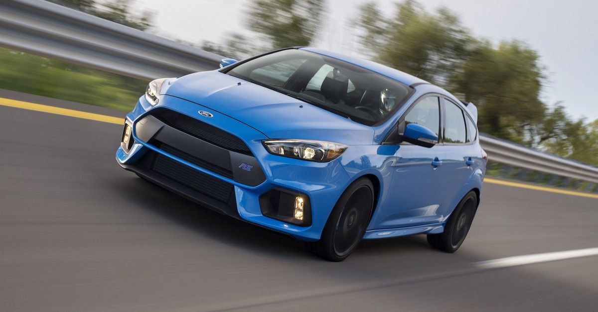 Ford S Tire Burning Focus Rs Drift Mode Will Make You Forget You