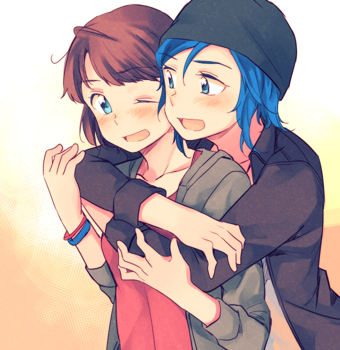 chloe x max - life is strange - by hachiko | Life Is Strange | Life