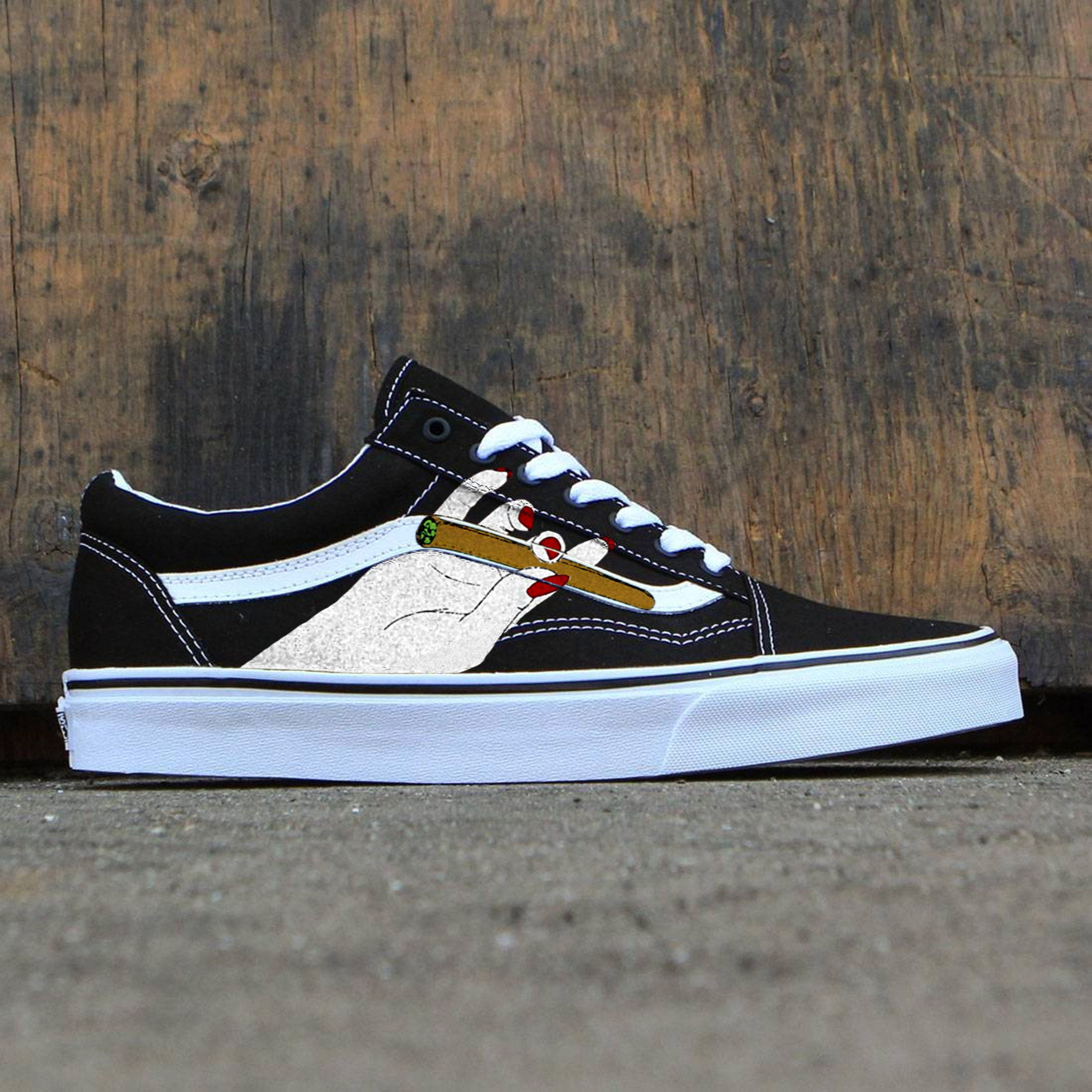 Custom vans old skool 9e570b370