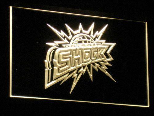 Detroit Shock LED Neon Sign