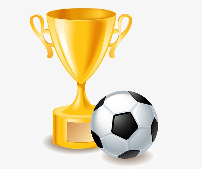 Football And Trophy Vector Football And Trophy Football Vector Trophy Vector Png Transparent Clipart Image And Psd File For Free Download Soccer Birthday Sports Clips Football