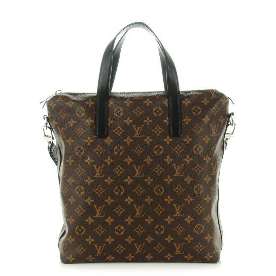 This is an authentic LOUIS VUITTON Monogram Macassar Kitan. This bagis crafted of classic Louis Vuitton Monogram toile canvas with black cowhide leather trim.