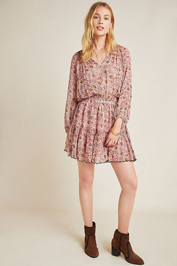 Aubrey Floral Tunic Dress