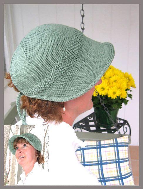 c0d4e7793c4 Sun Hat Knitting Patterns