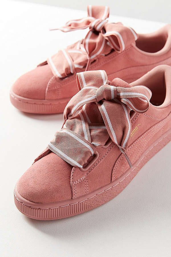 Puma Suede Heart Satin II Sneaker   Urban Outfitters   Work