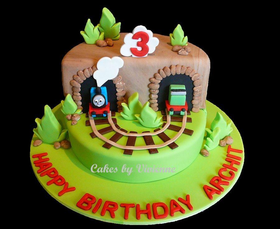 Thomas The Tank Engine Birthday Cake Recipes Pinterest