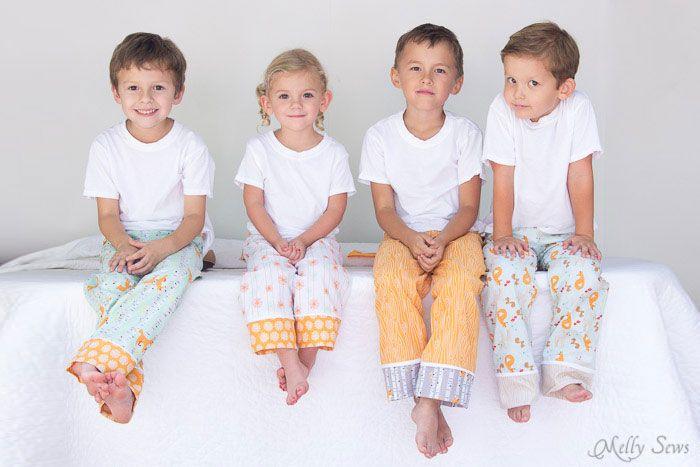 7a98e3f59c Kids pajama pants tutorial - Sew Pajama Pants - Melly Sews