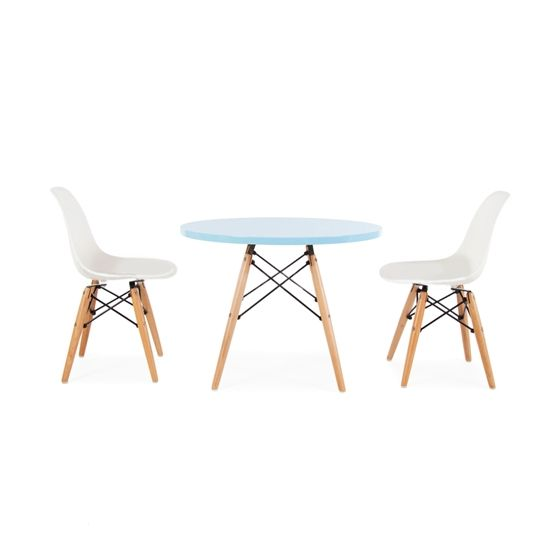 Retro Modern Kids Table And Chair Set Popandlolli Pinparty Modern Table Chairs Table Chair Sets Table Chairs