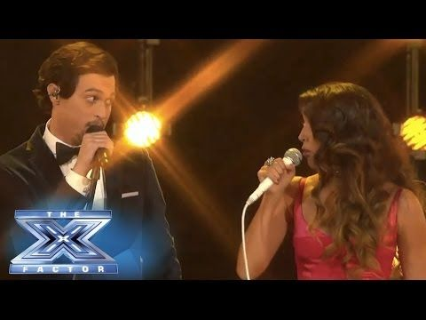 "Alex & Sierra sang ""I Knew You Were Trouble"" @Matt Valk Chuah X Factor USA  2013 TOP 8 Big Band week performance show"