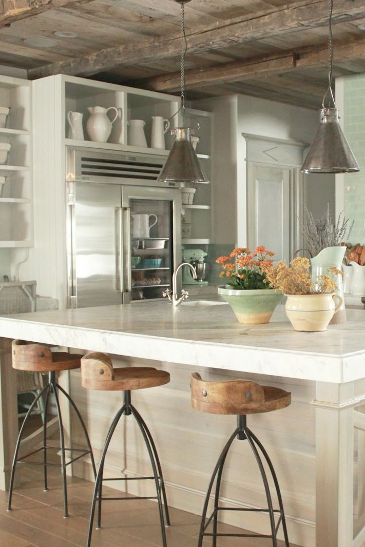Best 8 French Country Kitchen Decorating Ideas With Blues 400 x 300