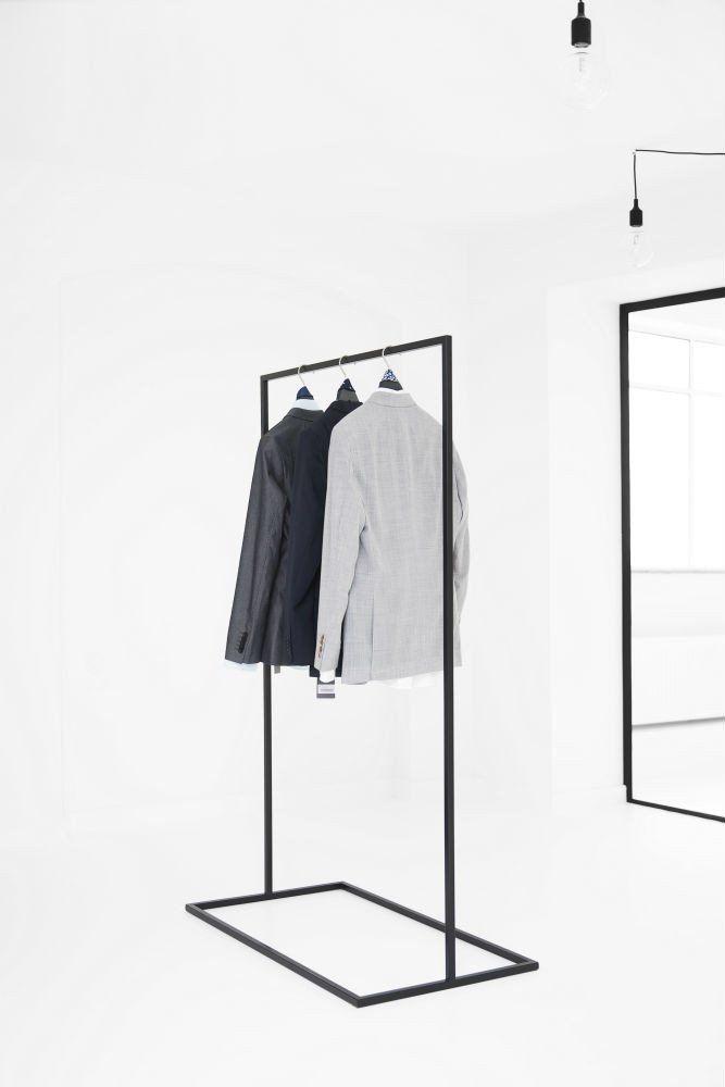Clothes Rack Minimalistisk Garderobestativ Garderobe Ankleide
