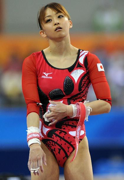 Can help sexy japanese gymnast apologise, but