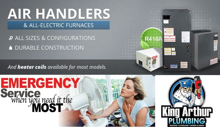 Home Air Handlers For Air Conditioning Coils Heating King